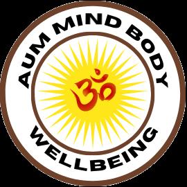 Aum Mind Body Wellbeing logo