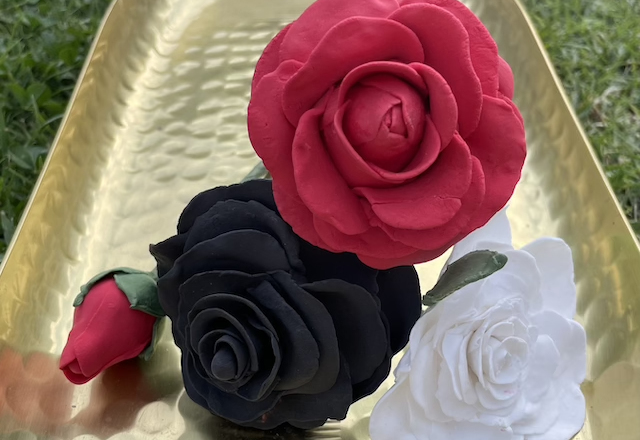 Clay Flower Making